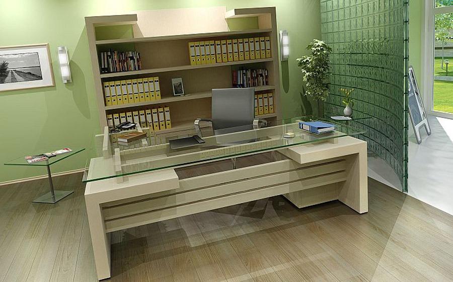 Σύγχρονο και μοντέρνο γραφείο διευθυντού