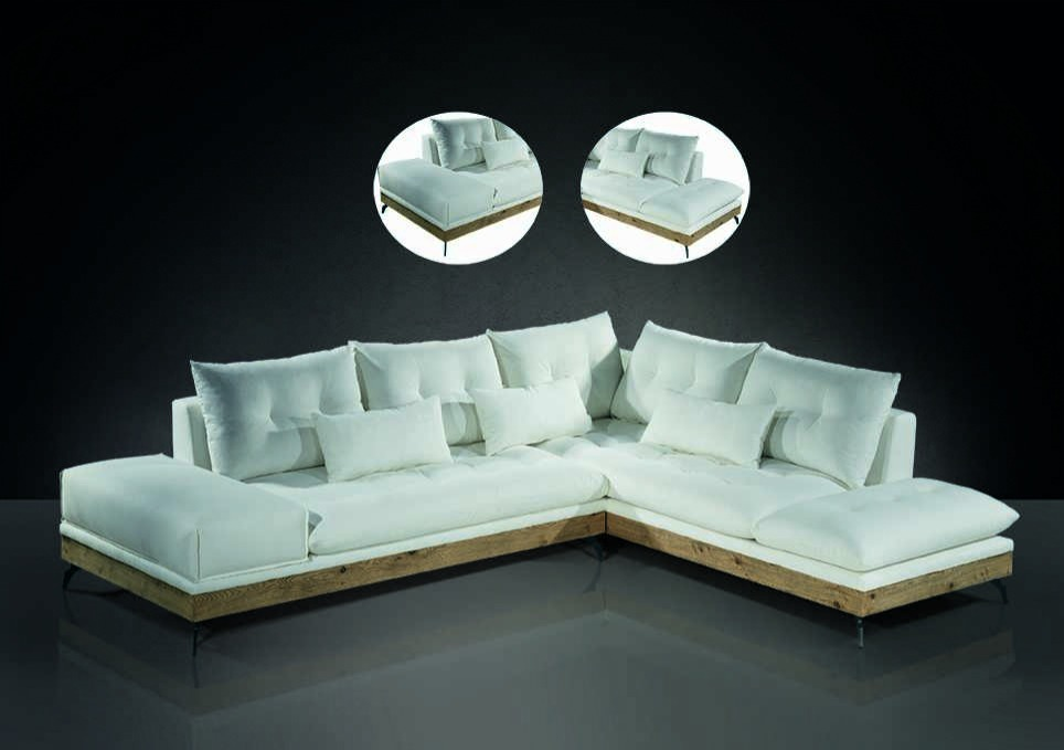 Γωνιακός καναπές  σε μοντέρνο ύφος