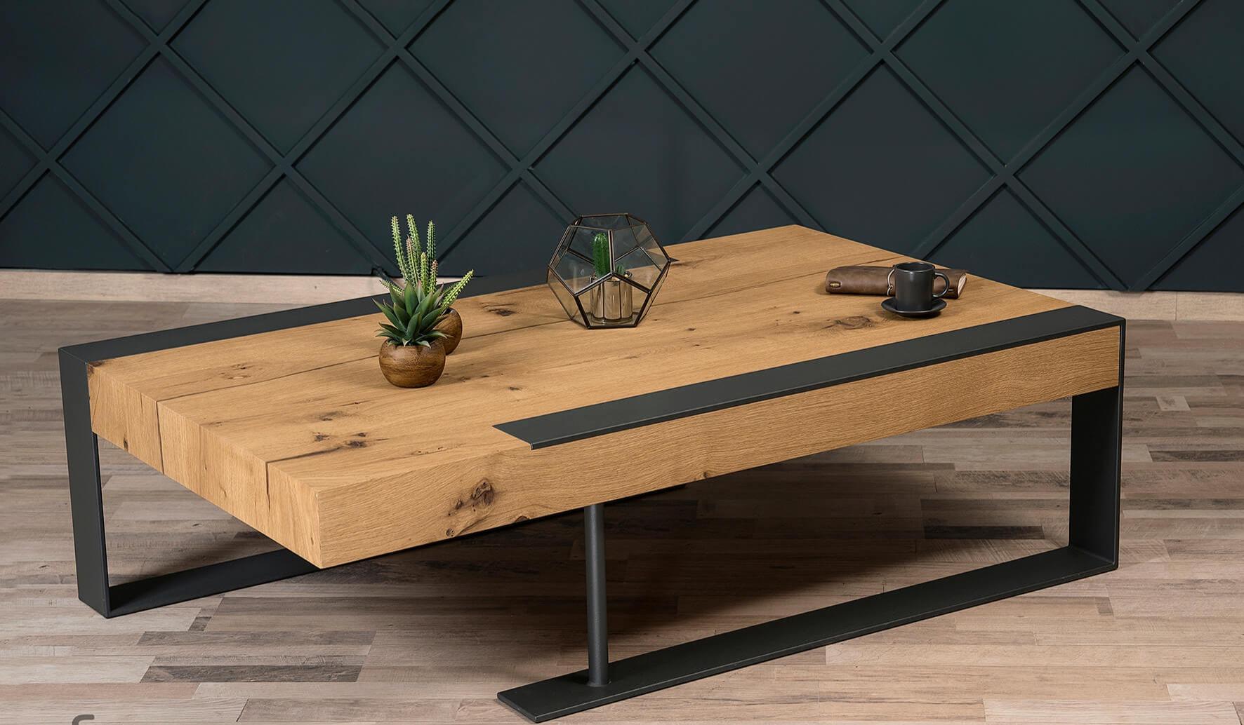 Μοντέρνο και εντυπωσιακό τραπέζι σαλονιού