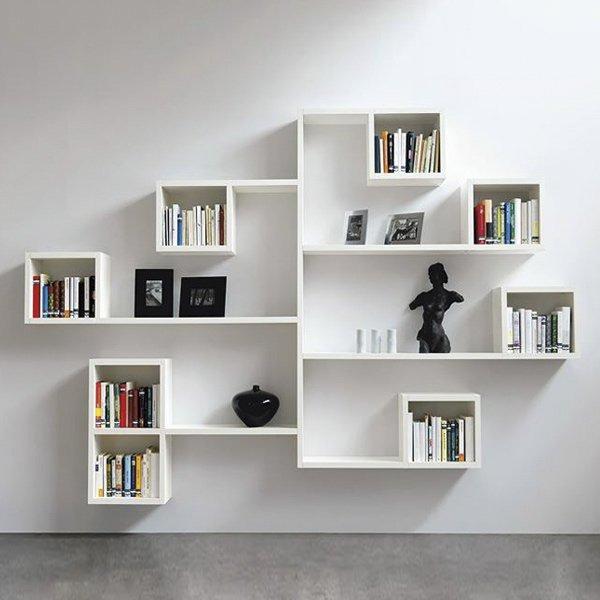 Μοντέρνα εντυπωσιακή και επιβλητική βιβλιοθήκη